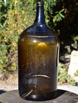 Large antique French wine bottle from Trinquetaille