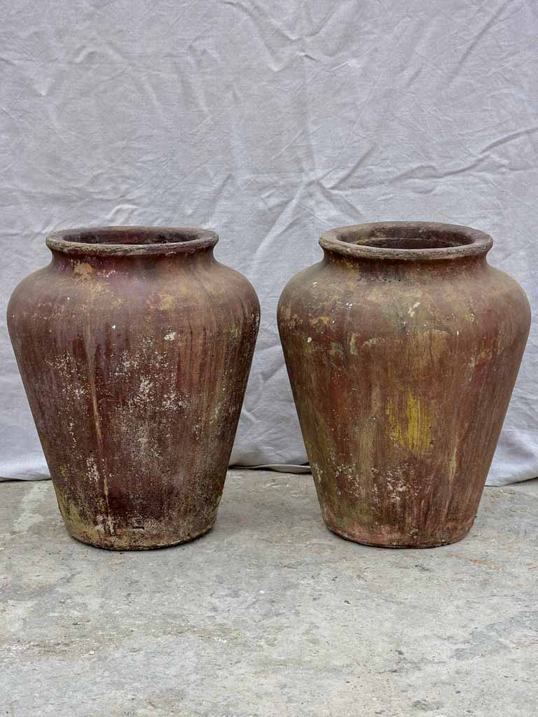 Pair of 1960's garden urns from Albi