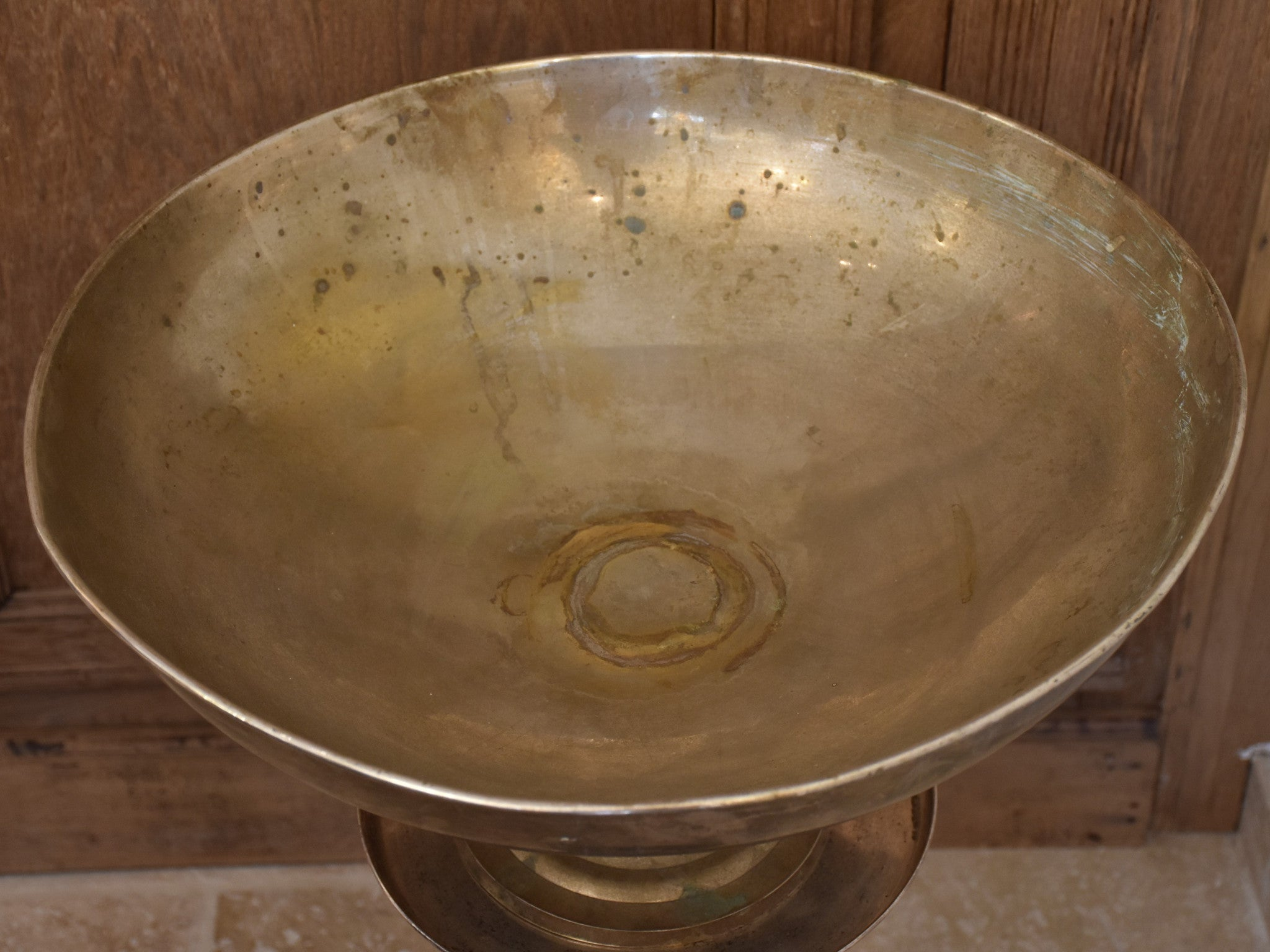 Very large Antique French champagne ice bucket