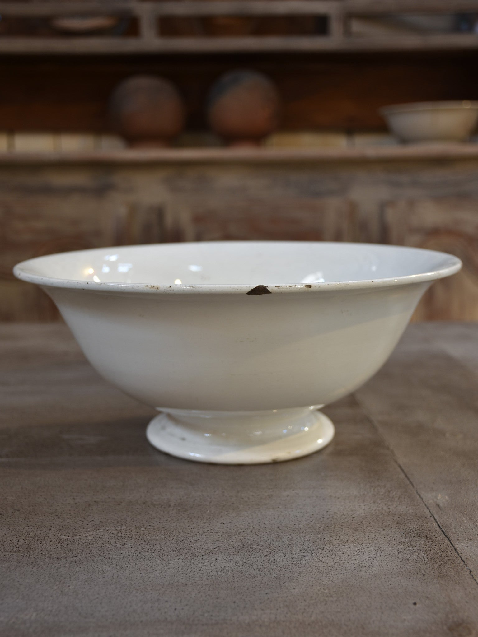 Late 19th century French ironstone bowl