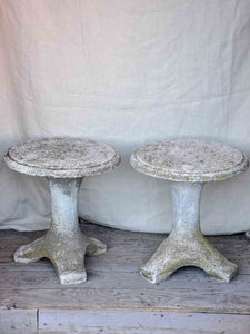 Astounding A Pair Of Vintage Italian Garden Stools Chez Pluie Gmtry Best Dining Table And Chair Ideas Images Gmtryco
