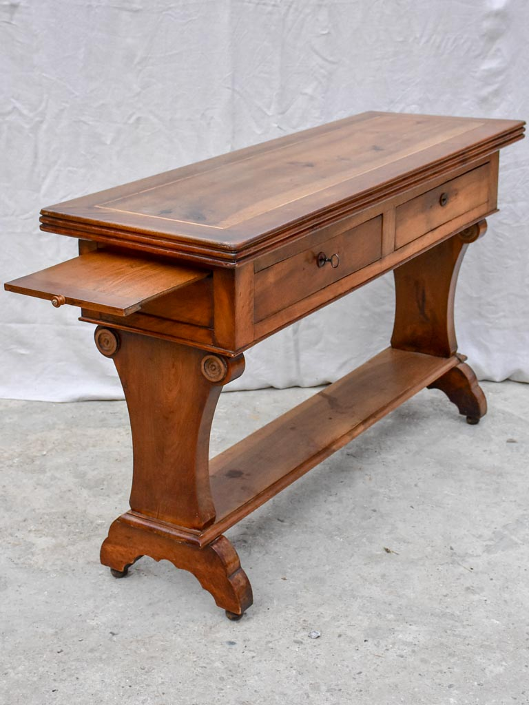 19th Century Louis Philippe serving table - walnut 57""