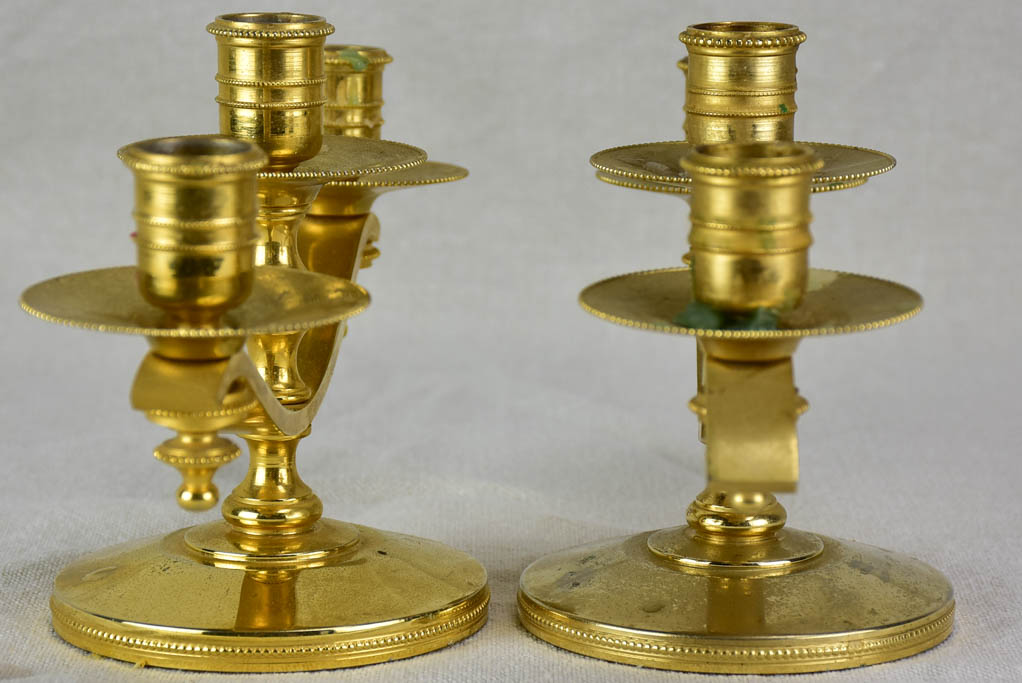 Pair of three-candle candlesticks