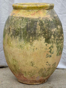 18th Century French Biot olive jar, stamped - 30¾""