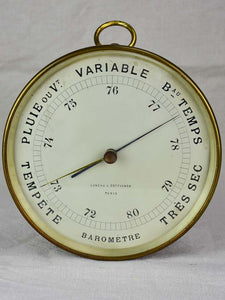 Antique French barometer 8¼""