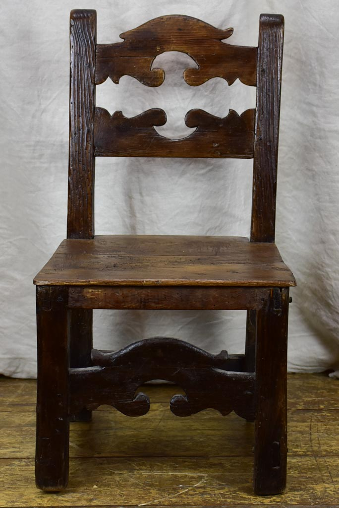 18th Century Alsatian chair