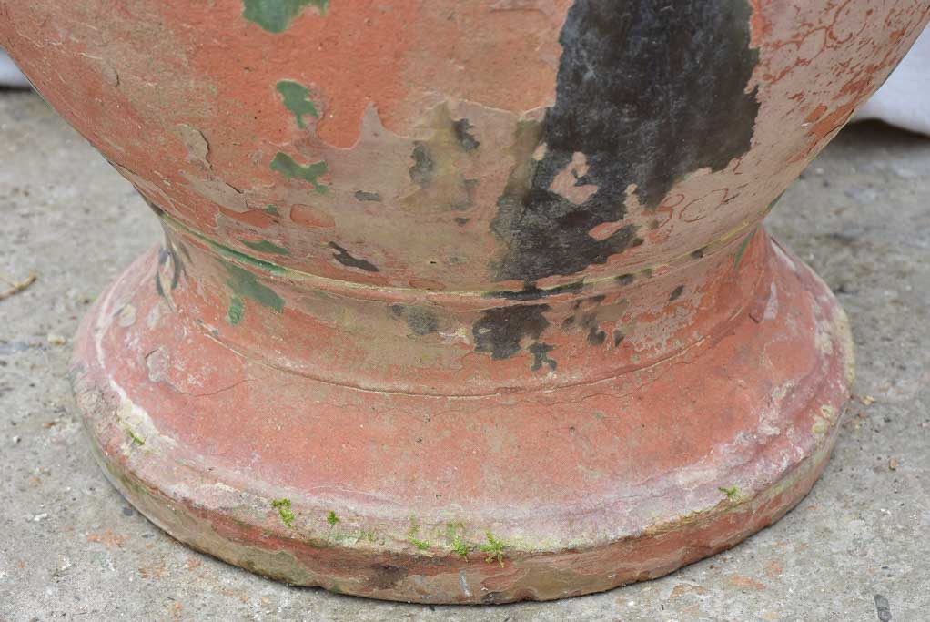 Large antique terracotta Anduze urn 31""