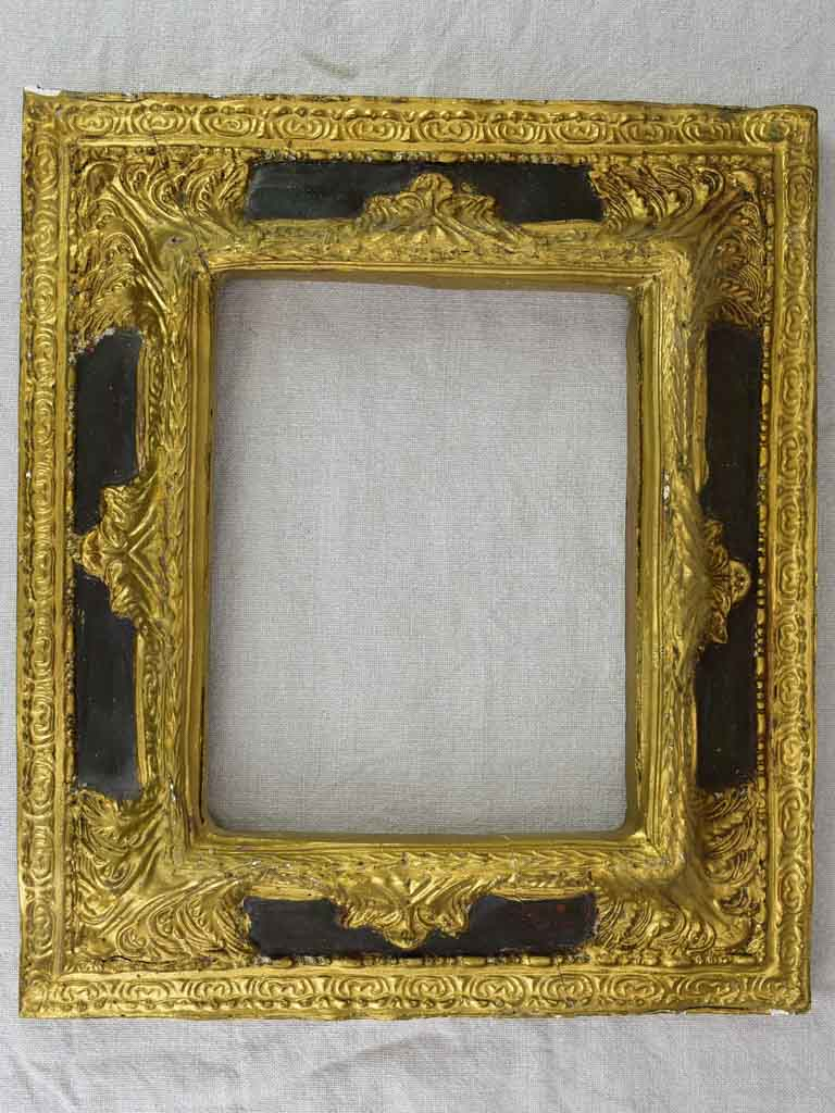 Antique Frame - black and gold