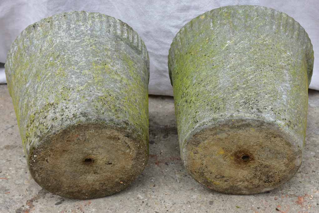 Pair of Willy Guhl tapered flower pots
