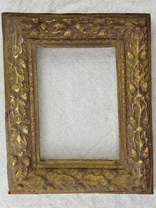 Pretty photo frame with acorn moldings