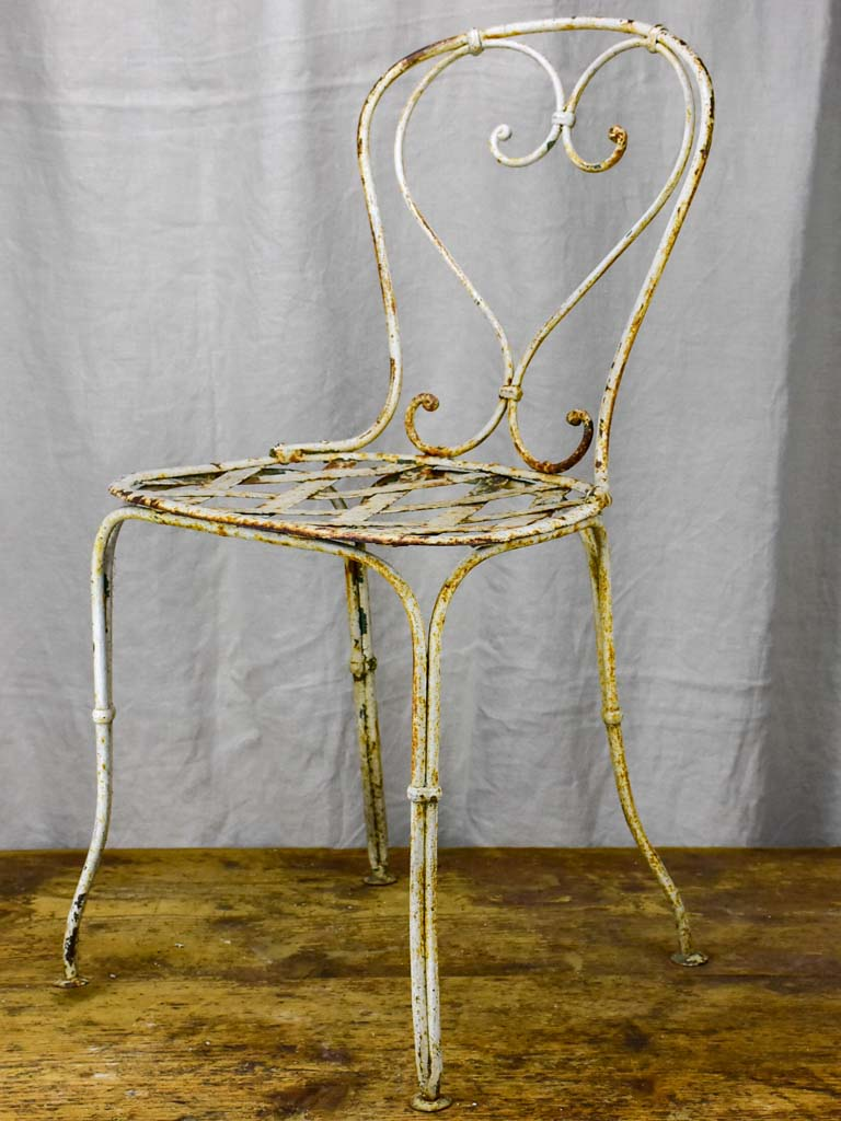 Antique French garden chair - Napoleon III