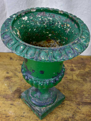 Antique French Green Medici urn