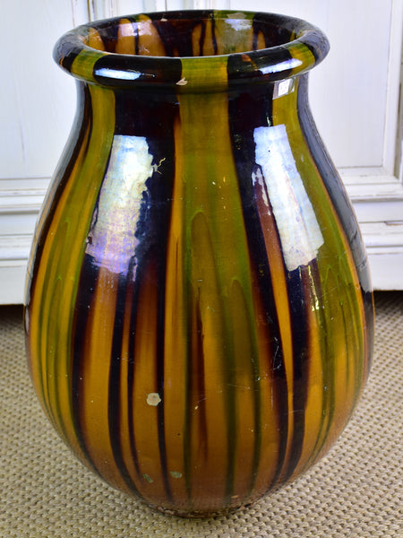 Antique French biot jar