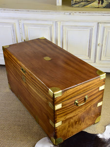19th century French camphor trunk