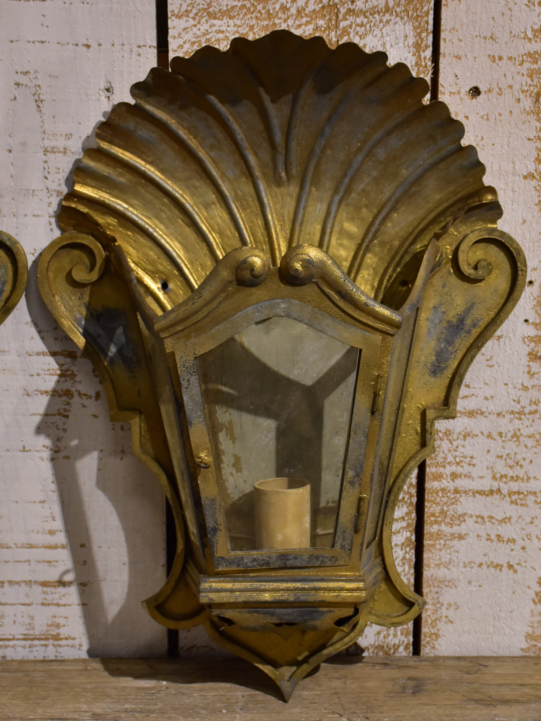 Pair of French wall sconces or appliques