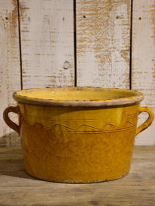 Antique terracotta pot from Provence