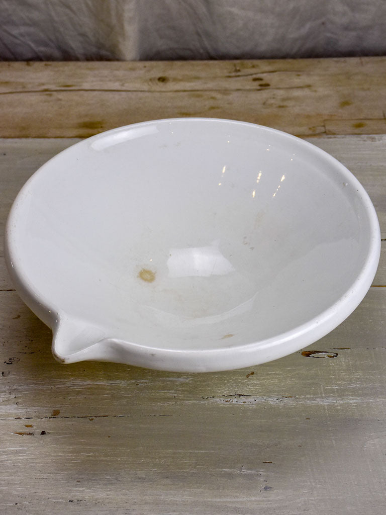 Antique cream bowl