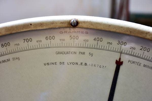 Vintage Berkel butcher's shop scales