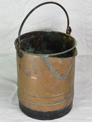 Antique French copper wine measure - decalitre
