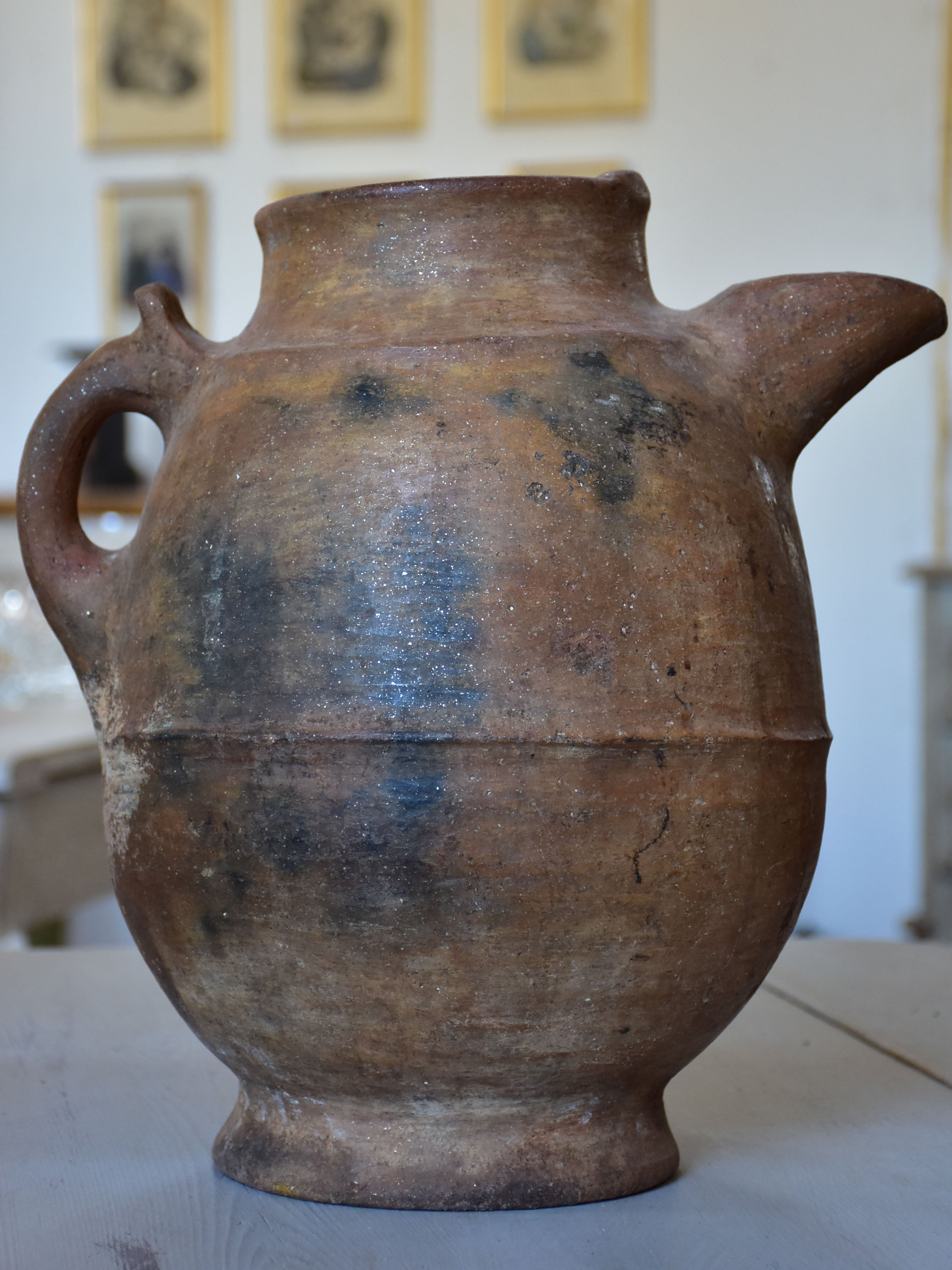 Large antique Berber jug