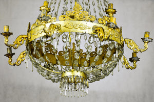 Antique Italian Genoese chandelier