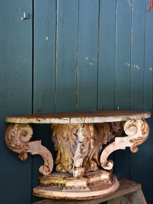18th century Louis XV console table – demilune