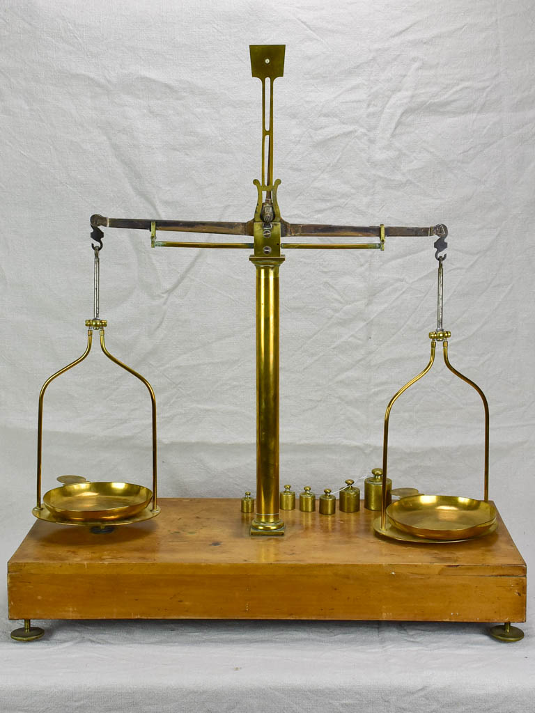 Antique French scales from a Pharmacy, Paris
