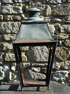 Large 19th century French lantern