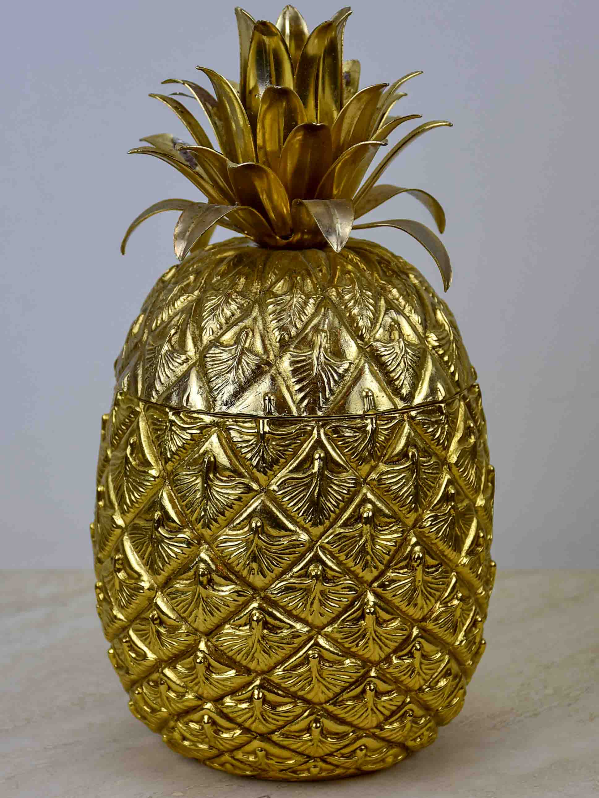 Gold Mauro Manetti pineapple ice bucket