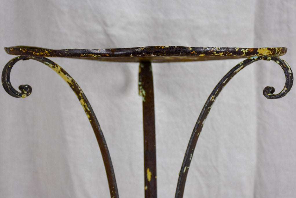 Early 19th Century wrought iron plant stand