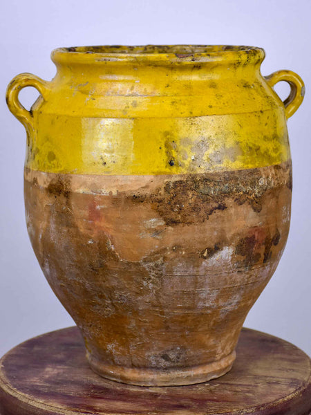 19th Century French confit pot - 13 ¼''