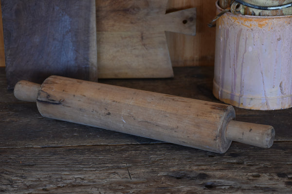 Antique French patisserie rolling pin
