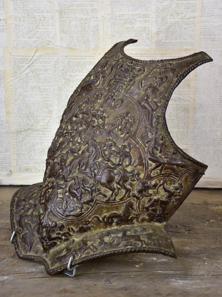 Antique French armor from a theater