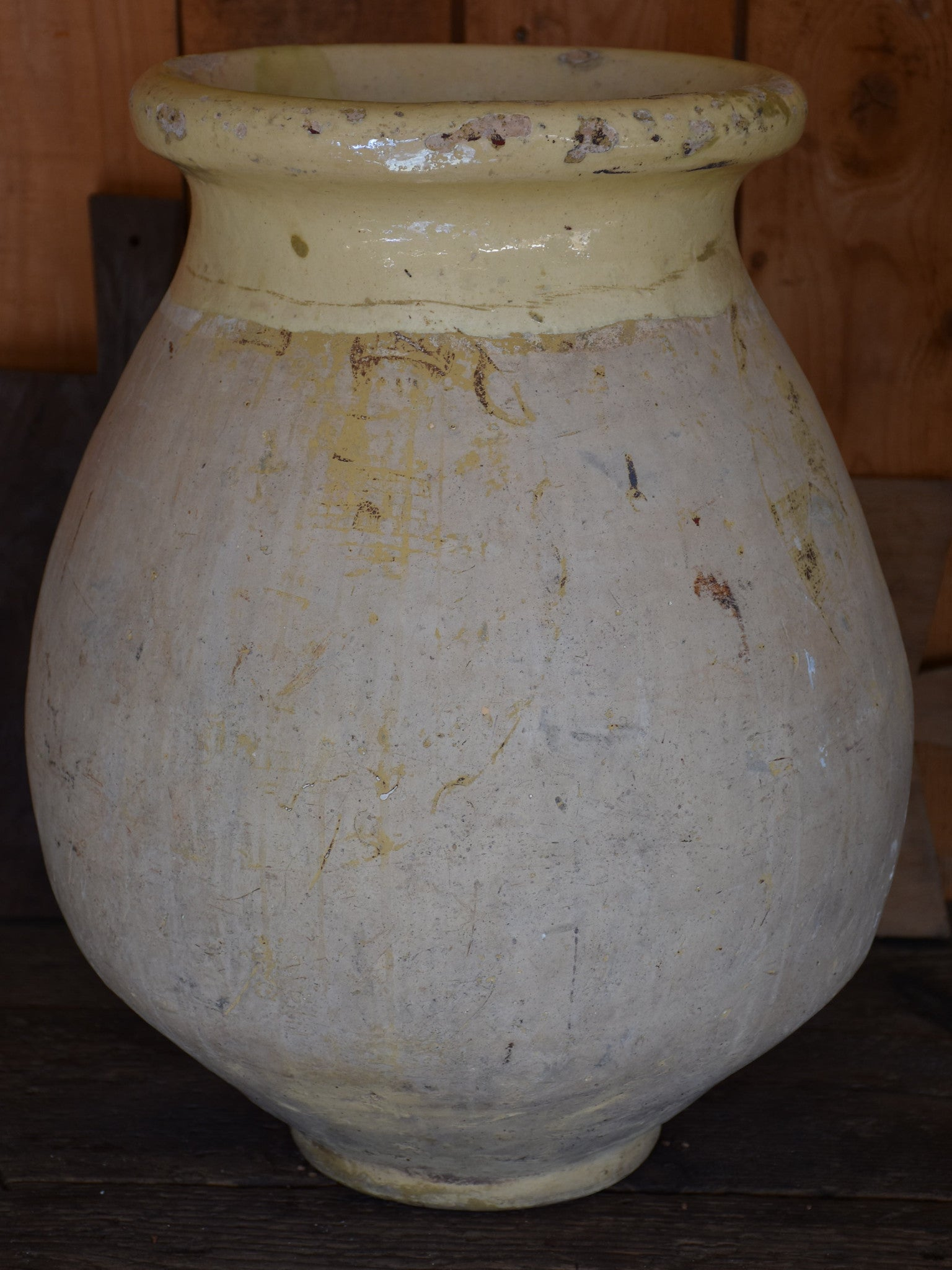 19th century French Biot jar - 20¾""