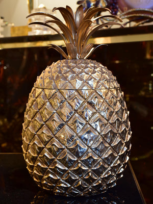 Original large Mauro Manetti pineapple ice bucket