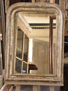 Silver frame Louis Philippe mirror – 19th century