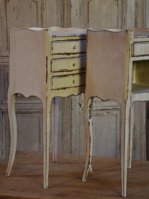 Pair of antique French night stands – Louis XV style