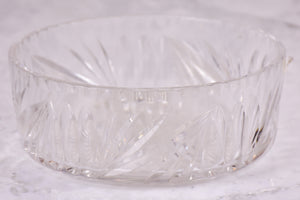 Antique French crystal Baccarat bowl