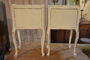 Pair of antique French night stands