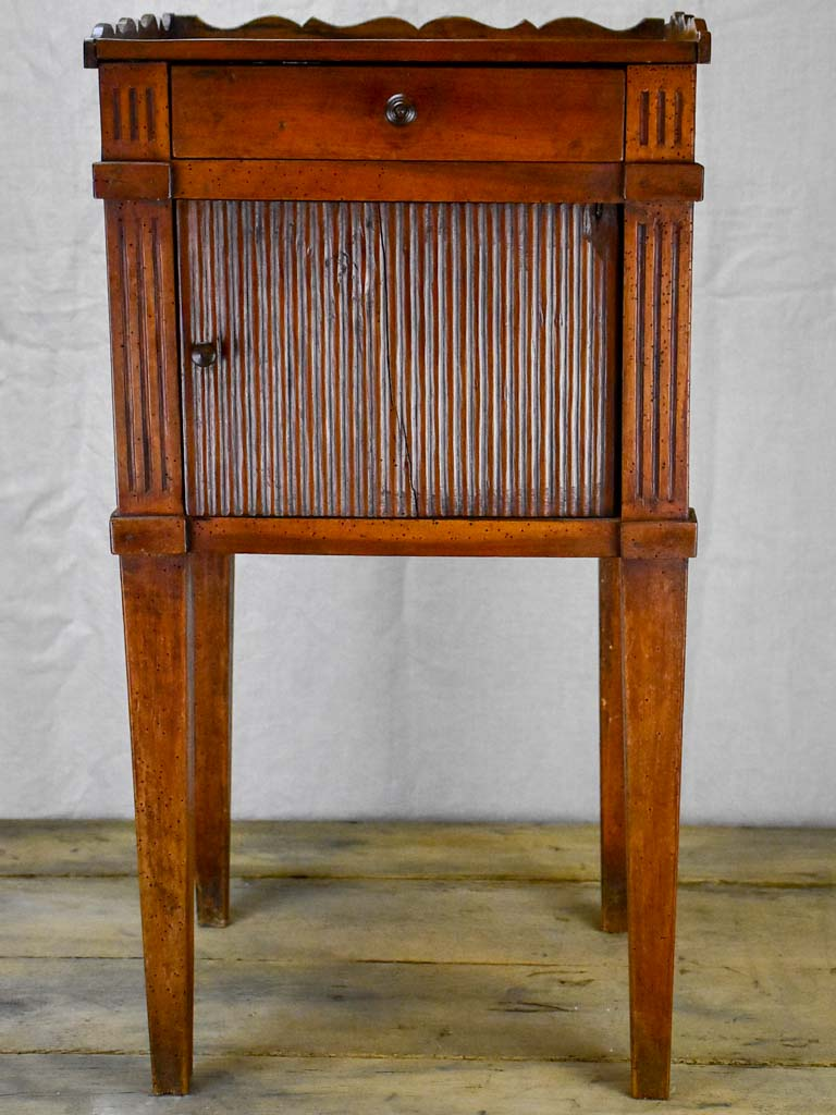 Rustic 19th Century French nightstand