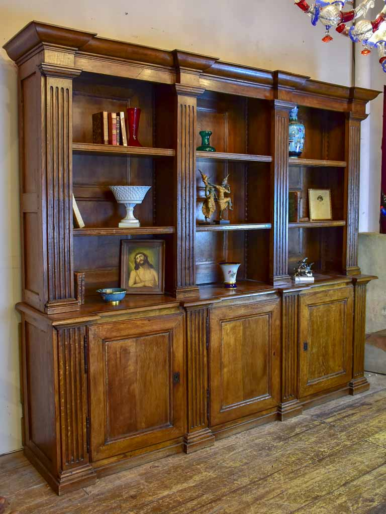 19th Century French book case 86½""