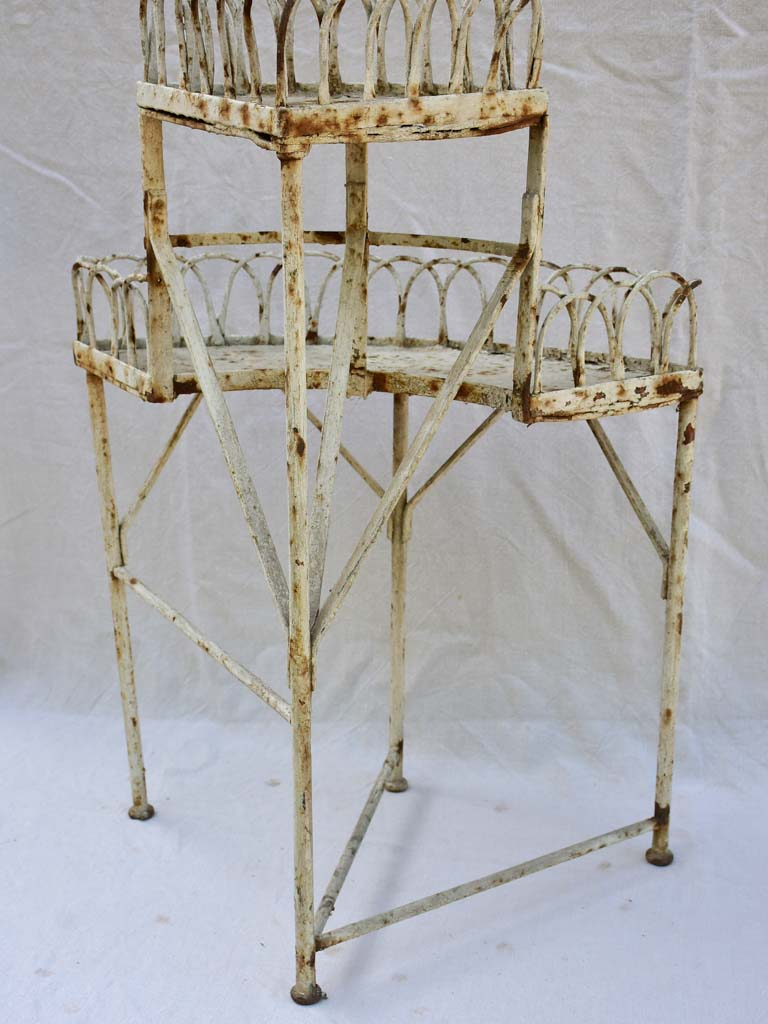 Early 20th century French pot plant stand for a corner