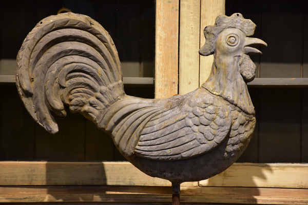 Antique French weathervane rooster