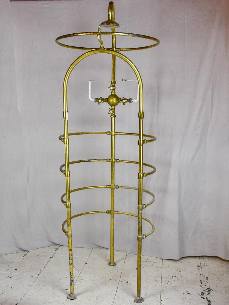 Early 20th Century shower cage