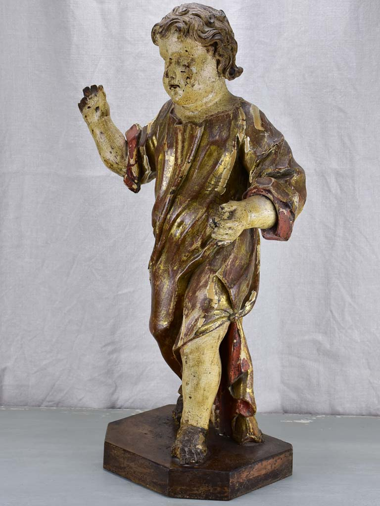 17th Century Putti sculpture