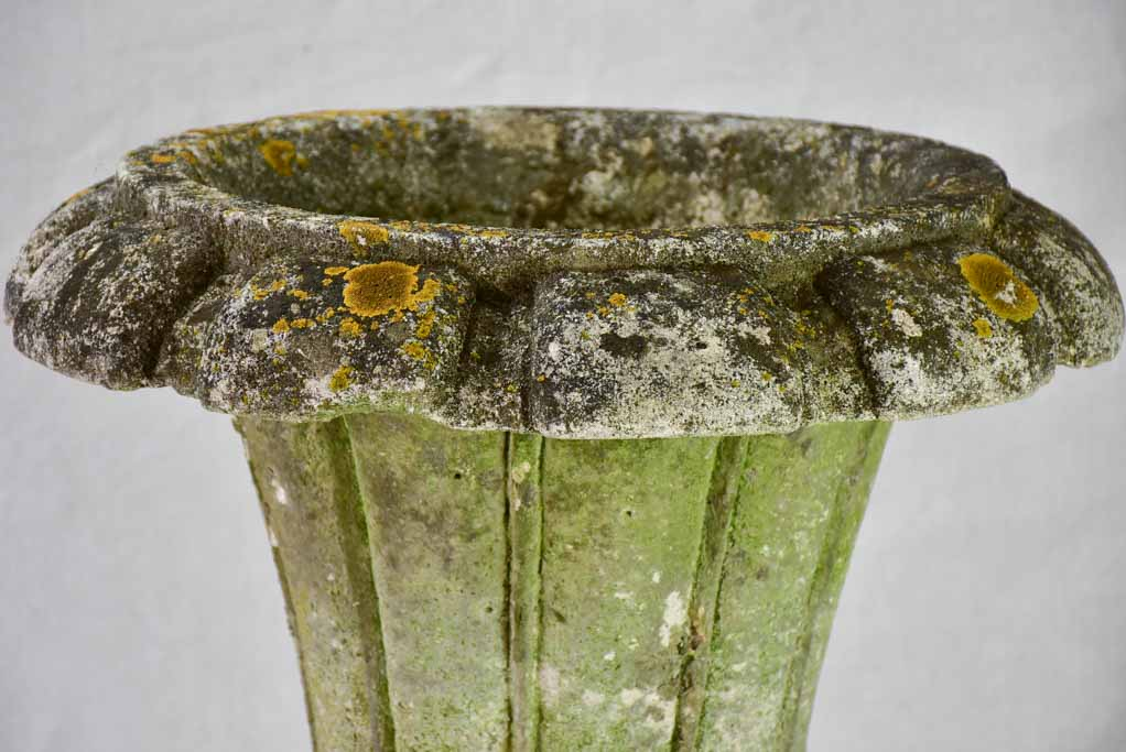 Early twentieth Century French Medici shape stone planter 20""