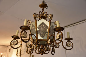 Vintage French chandelier / lantern