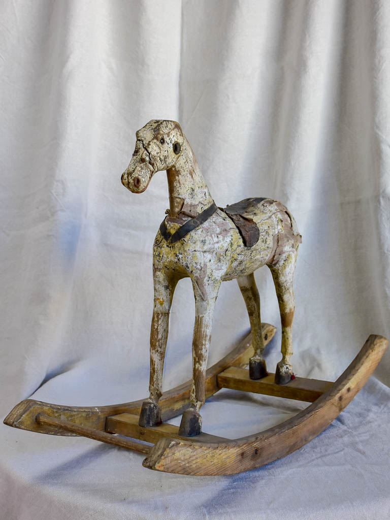 19th Century toy rocking horse