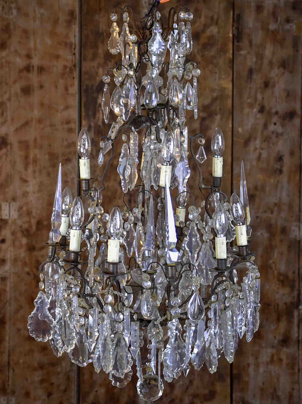 Large pair of late 19th Century Italian chandeliers
