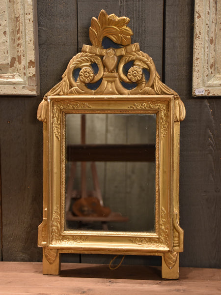 Early 19th century French vanity mirror